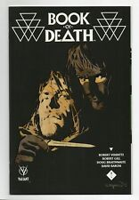 BOOK OF DEATH #2 A REGULAR COVER NEAR MINT- VALIANT VEI COMICS RED HOT!