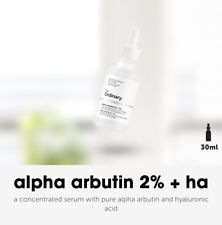 💜🖤❤️THE ORDINARY Alpha Arbutin 2%+Hyaluronic Acid Serum 100% original 💙💜🖤