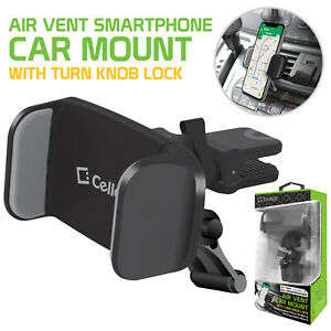 Air Vent Phone Holder Mount 360 Rotation - Samsung Note 10 9 Galaxy S20 S10 S9