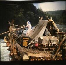 How The Ouest Was Won Carroll Baker Sur Raft Original 2.25 x 2.25 Transparence