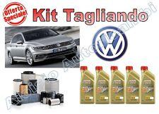 KIT TAGLIANDO VW PASSAT 2.0 TDI 110KW 150CV DAL 11/2014-> OLIO CASTROL + FILTRI*