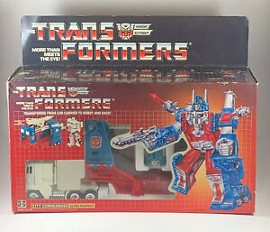 Transformers G1 City Commander Ultra Magnus Autobot w/ Box & Near Complete