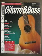 GITARRE & BASS 1993 # 7 - EDDIE VAN HALEN MOTÖRHEAD ROGER MAYER AEROSMITH