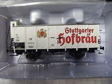 Brawa HO 49006 Bierwagen Stuttgarter Hofbräu der DB Ep.III NEU OVP