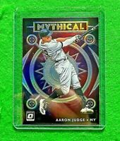 AARON JUDGE PRIZM MYTHICAL CARD NEW YORK YANKEES 2020 PANINI DONRUSS OPTIC PRIZM