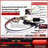 30cm Switchback Car DRL-LED Light Strip Brake Flash Tube Sequential Turn Signal