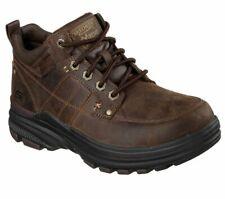 Skechers Holdren-Lender Mens Leather Memory Foam Ankle Boots