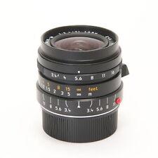 Leica Super-Elmar M21mm F/3.4 ASPH. Black -Near Mint- #142
