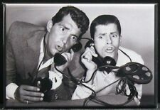 "Jerry Lewis & Dean Martin Photo 2"" X 3"" Fridge / Locker Magnet."