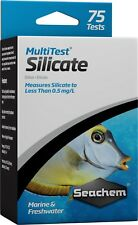 Seachem MultiTest SILICATE Liquid Water Test Kit Freshwater & Marine Aquariums