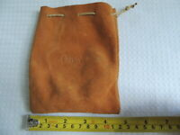 Orvis Leather Drawstring Fishing Reel Pouch / Case....2 of 3.