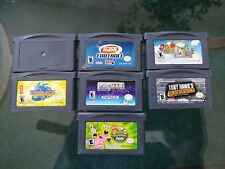 Lot of 7 Game Boy Advance games
