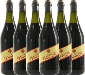 6er Paket - Fragolino Rosso - Terre del Sole   Perlwein