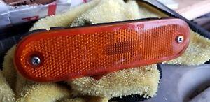 90-05 MAZDA MIATA MX5 LEFT FRONT MARKER LIGHT ORANGE AMBER WITH HARDWARE