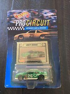 #26 BRETT BODINE - QUAKER STATE FORD - HOT WHEELS 1992 - 1:64 CAR - PRO CIRCUIT