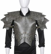 Medieval Retro Armor Halloween Cosplay Pu Leather Knight Armor Costume Accessory