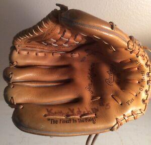 VTG Jim Lefebvre Baseball Glove Rawlings Model GJ69 Lefthand Thrower