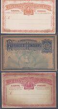 Honduras 1890s 1900 Collezione Di 6 Mint Postale Carte Uno W/Risposta Ottime