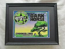 DARK HORSE CROOKED TREE ALE SIGN  #1109