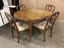 French Style  Extending Dining Table With 4 Chairs