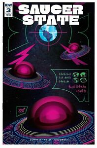 Saucer State #3 (07/2017) IDW Comics UFO