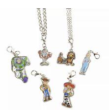 Disney Charm Necklace and Bracelet Set Toy Story New