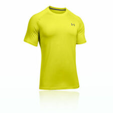 Abbiglimento sportivo da uomo gialli marca Under armour poliestere