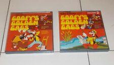 Super 8 GOOFY'S GOLDEN GAGS Le geniali trovate di Pippo Volume 1 e 2 Walt Disney