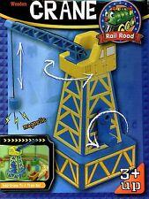 MAXIM 50207~Wooden Crane-2004~Non-Toxic Paint~Thomas/BRIO~Boys&Girls3+