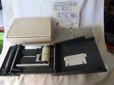 Barzitan Minimate #F3030 Credit Card Manual Slide Imprinter Portable Old School