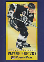 Wayne Gretzky Point Leaders HOF 1993-94 Fleer Power Play Hockey #3