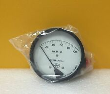 Omega Research, Inc. 1516DG-1A-4.5L Differential Pressure Gauge, New in Box