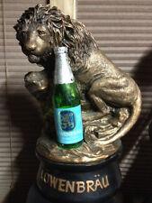 RARE VINTAGE LOWENBRAU LION BAR STATUE. Very good condition