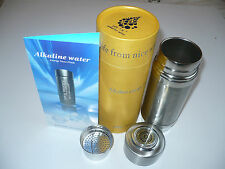 Alkapod Portable Alkaline Healthy Water pH Purifier Ionizer Energy Filter Flask
