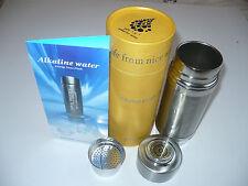Alkapod portable alcaline purificateur d'eau saine ph ioniseur energy fiole filtrante
