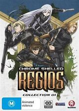 Chrome Shelled Regios : Collection 1 (DVD, 2011, 2-Disc Set) Brand New & Sealed