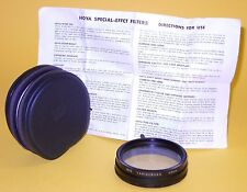 Hoya 55mm VARIOCROSS Filter in MINT condition w/Case and Instructions