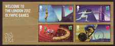 LA GRANDE-BRETAGNE 2012 BIENVENUE DANS JEUX OLYMPIQUES DE LONDRES BLOC-FEUILLET