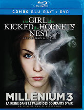 The Girl Who Kicked the Hornets Nest (Blu-ray/DVD, 2012, Canadian) Free Shipping