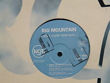 "MAXI 12"" Promo BIG MOUNTAIN Baby i love your way ( FRAMPTON ) 74321208131 RAGGA"