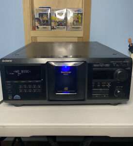 Sony CDP-CX400 Compact Disc Player 400 CD Jukebox Carousel