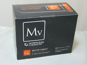 Monavie Glucose Support 14 Packets Box Collectors Item Not for Consumption 1/14