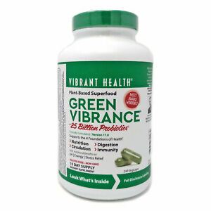 Green Vibrance By Vibrant Health - 240 Capsules