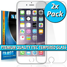 100% Genuine Tempered Glass Screen Protector for iPhone SE 2 (2020) 5 6 6S 7 8