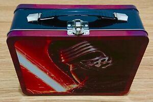 Star Wars Force Awakens lunch Box Large Tin Kylo Ren collectible