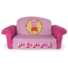 Peppa Pig Marshmallow Furniture Children's Upholstered 2-in-1 Flip Open Sofa