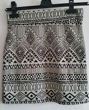 Ladies' Miso Aztec Pattern Skirt UK Size 8