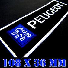 A648 PATCH ECUSSON PEUGEOT SPORT GRIS 10*3,5 CM
