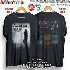 ALANIS MORISSETTE, GARBAGE, LIZ PHAIR - WORLD TOUR 2020-2021 Concert T-shirt