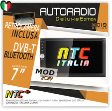 "AUTORADIO 7"" Touch NTC 2DIN Bluetooth AUX USB AUDI A3 A4 VW GOLF 4 5 Scirocco"